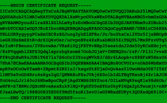Kryptering CSR